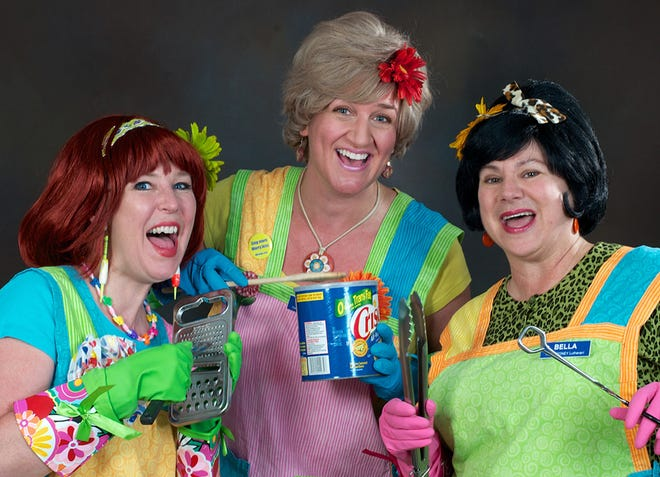 The Looney Lutherans will be performing at the Paramount Center for the Arts on June 25.