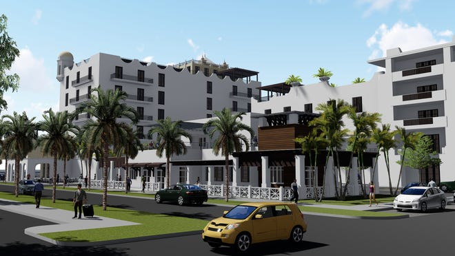 Audubon Development of West Palm submitted this $85 million proposal to redevelop the H.D. King site in downtown for a 120-room Marriott-brand hotel, 60 condos, 40,000-square-feet of retail space, space for two restaurants an 300 surface parking spaces. The project is to be named King's Landing.