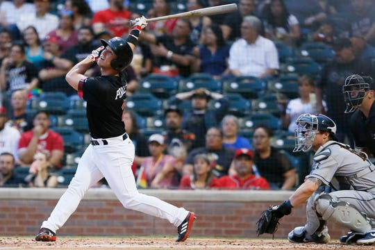 The El Paso Chihuahuas go against the New Orleans Baby Cakes Thursday, June 13, at  Southwest University Park in El Paso.