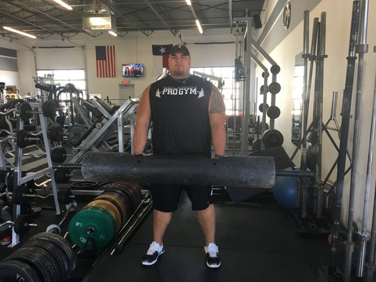 Josh Silva placed third at the United States amateur championships in strongman, just five months after taking up the sport