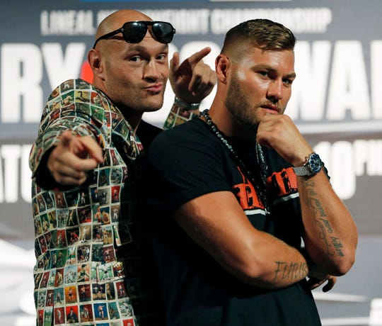 Boxer Tyson Fury To Defend Title Saturday Against Tom Schwarz