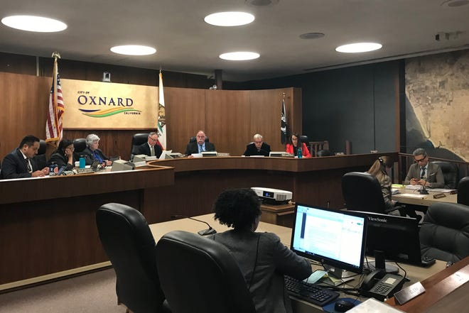 The Oxnard Council Chambers is seen in a 2019 photo. On Feb. 4, 2020, council will appoint a new member to fill a vacant seat.