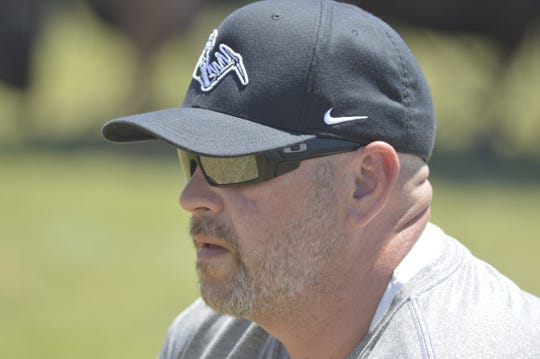El Diamante's Chris Frankland is in his first season as the Miners' head football coach.
