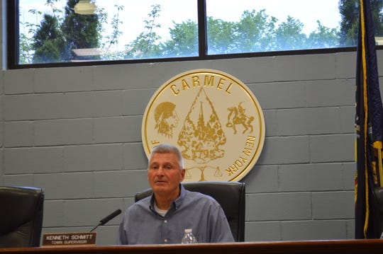 "Carmel Town Supervisor Kenneth Schmitt said a ""miscommunication"" between him and Mike Barile resulted in an incorrect statement in his September 2015 memo."