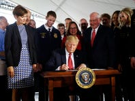 Trump orders simpler path for genetically engineered food