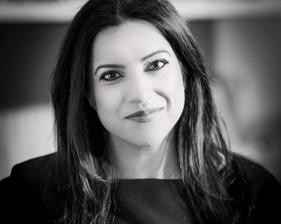 """Reshma Saujani shared some tips on raising kids to be """"brave, not perfect"""" in a podcast with Motherly."""