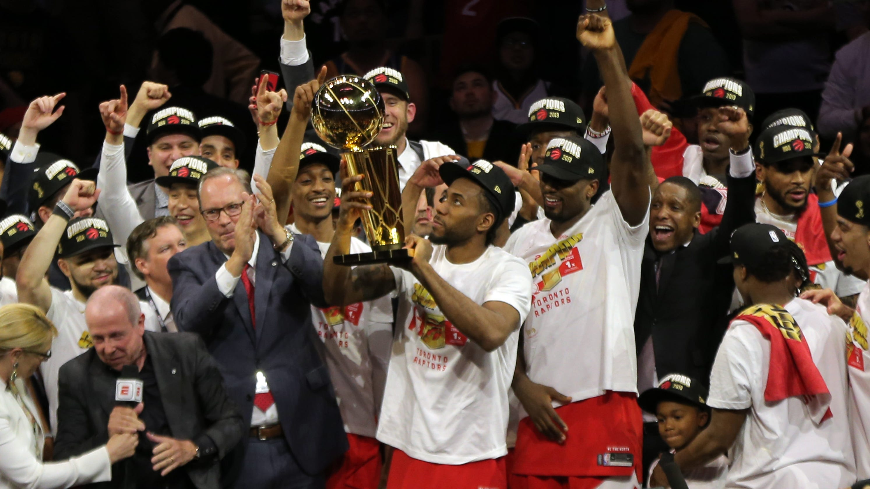 2019 NBA Finals: Toronto Raptors hold off Golden State in ...