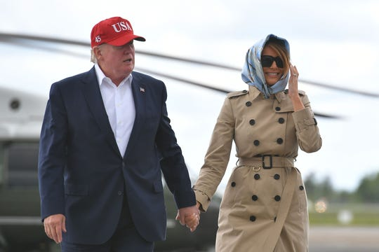 Trump likens Melania to 'Jackie O' but Twitter objects