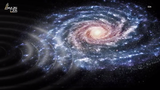 The Milky Way features odd ripples and scientists think a newly-discovered dwarf galaxy is the culprit.