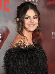 "Selena Gomez at the New York premiere of ""The Dead Don't Die."""