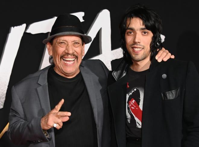 Danny Trejo, left, and his son Gilbert Trejo.