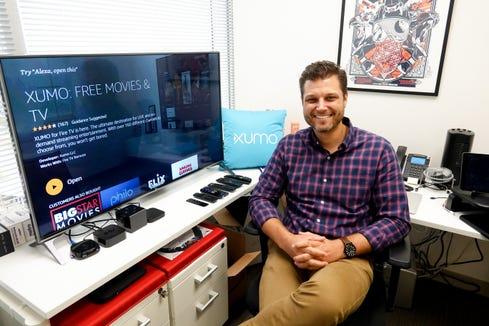 Chris Hall, senior vice-president of product for Xumo