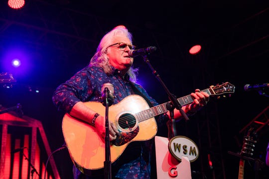 Ricky Skaggs performs during the Grand Ole Opry show at the Bonnaroo Music and Arts Festival on Thursday, June 13, 2019, in Manchester, Tenn.