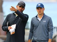 Jordan Spieth is getting hammered for calling out his caddie at the U.S. Open