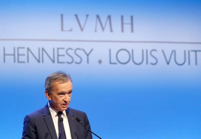 CEO of LVMH Bernard Arnault.