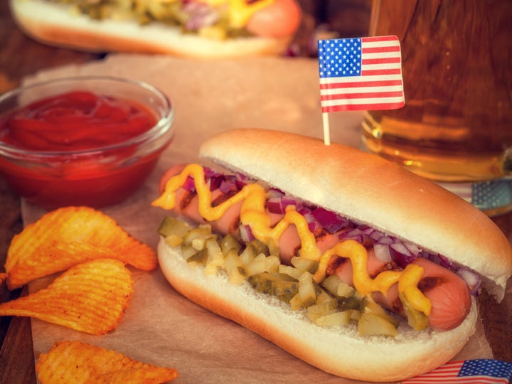 4th of July Picnic Table - Hot Dogs [Via MerlinFTP Drop]