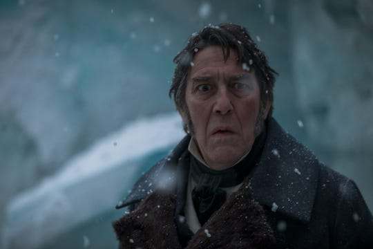 "Ciarán Hinds as John Franklin in ""The Terror."""