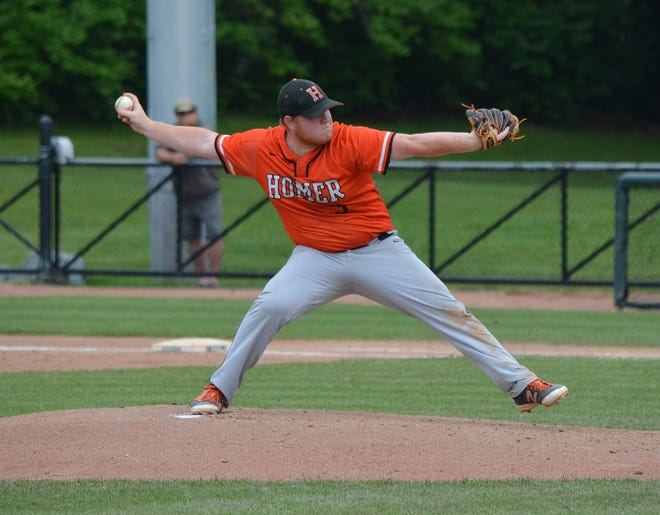 Homer's Zach Butters led the Trojans to a state title in 2019 is one of the Enquirer's Top 10 area baseball players of the past decade.