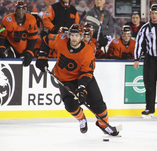 Andrew MacDonald signed a six-year, $30 million contract with the Flyers in April of 2014. The team will buy out the last year of his contract.