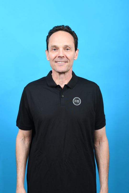 Gregg Polinsky, Detroit Pistons director of player personnel