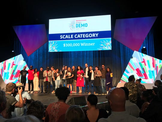 "Ellis islamd Tea won first place in the Quicken Loans Detroit Demo Day ""Scale"" category."