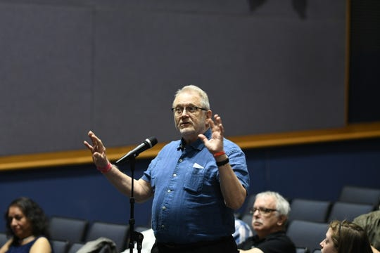 """""""Our democracy is at risk and if we don'tact then democracy is really in danger,"""" said Larry Lipton,73, of Bloomfield Township."""