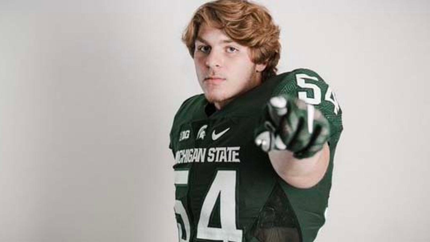 Michigan State football lands commitment from 3-star defensive end Kyle King