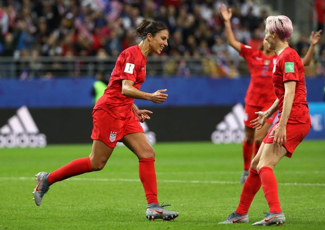 On Friday, Carli Lloyd said she felt empathy for the Thai team and wanted to comfort the goalkeeper.