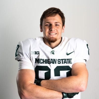 Jack Olsen committed to Michigan State.