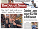 The front page of the Detroit News on Saturday, June 15, 2019