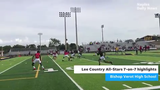 Watch as Deion Sanders organized teams from Mississippi and Texas to face off against Lee County talent on Friday, June 14, 2019 at Bishop Verot High.