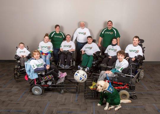 Hot Shots power soccer team photo