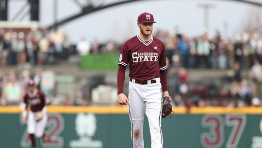 Mississippi State pitcher Jared Liebelt didn't appear in the College World Series a year ago. He's destined to make his first CWS appearance this week.