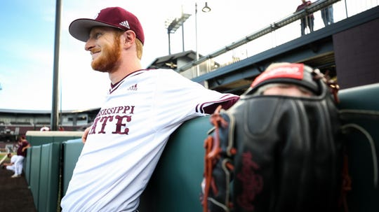 Mississippi State pitcher Jared Liebelt has pitched more innings in relief than any other Bulldog coming out of the bullpen.