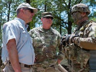 PHOTOS- Gov. John Bel Edwards Visit to JRTC