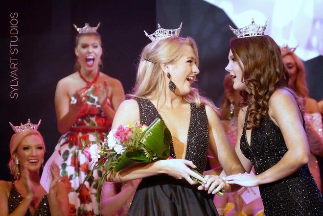 Miss Franklin County Mara Mason, 22, of Columbus, was the Friday night preliminary talent award at the Miss Ohio Scholarship Program.