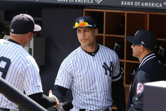 The Yankees expect Giancarlo Stanton could return on Tuesday night at Yankee Stadium when the Tampa Bay Rays come into town.