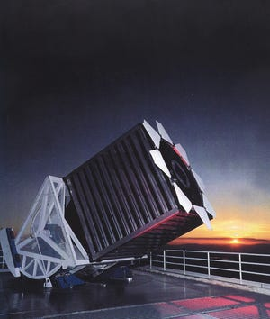 Sloan Digital Sky Survey telescope (SDSS) at Apache Point Observatory.
