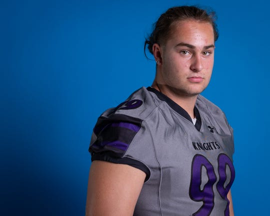 Jake Shipley is a defensive end at Shadow Hills High School, class of 2020