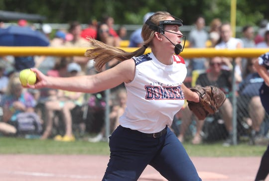 Pine Plains fell to Warsaw in the softball state semifinal at Moreau Recreational Park in Glens Falls, New York June 15,  2019.