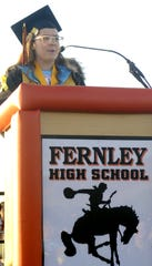 Kennedy Lyon-Lindersmith is Fernley's 2019 valedictorian.