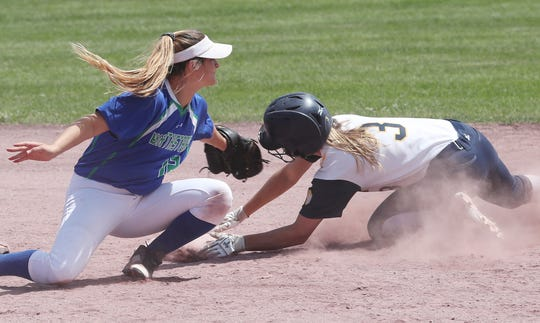Victor softball bid to repeat as state champion ends