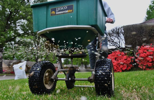 File: It is time to think about fertilizing your shrubs, trees and lawns.