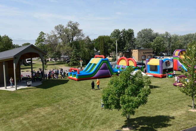 Wobegon Park hosts inflatables, food trucks and the annual turtle races during Avon's Spunktacular Days, Saturday, June 15.