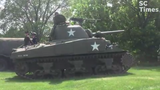 Stearns History Museum hosted its first live history event, 'At War and At Home: The WWII Experience,' Friday and Saturday in St. Cloud.