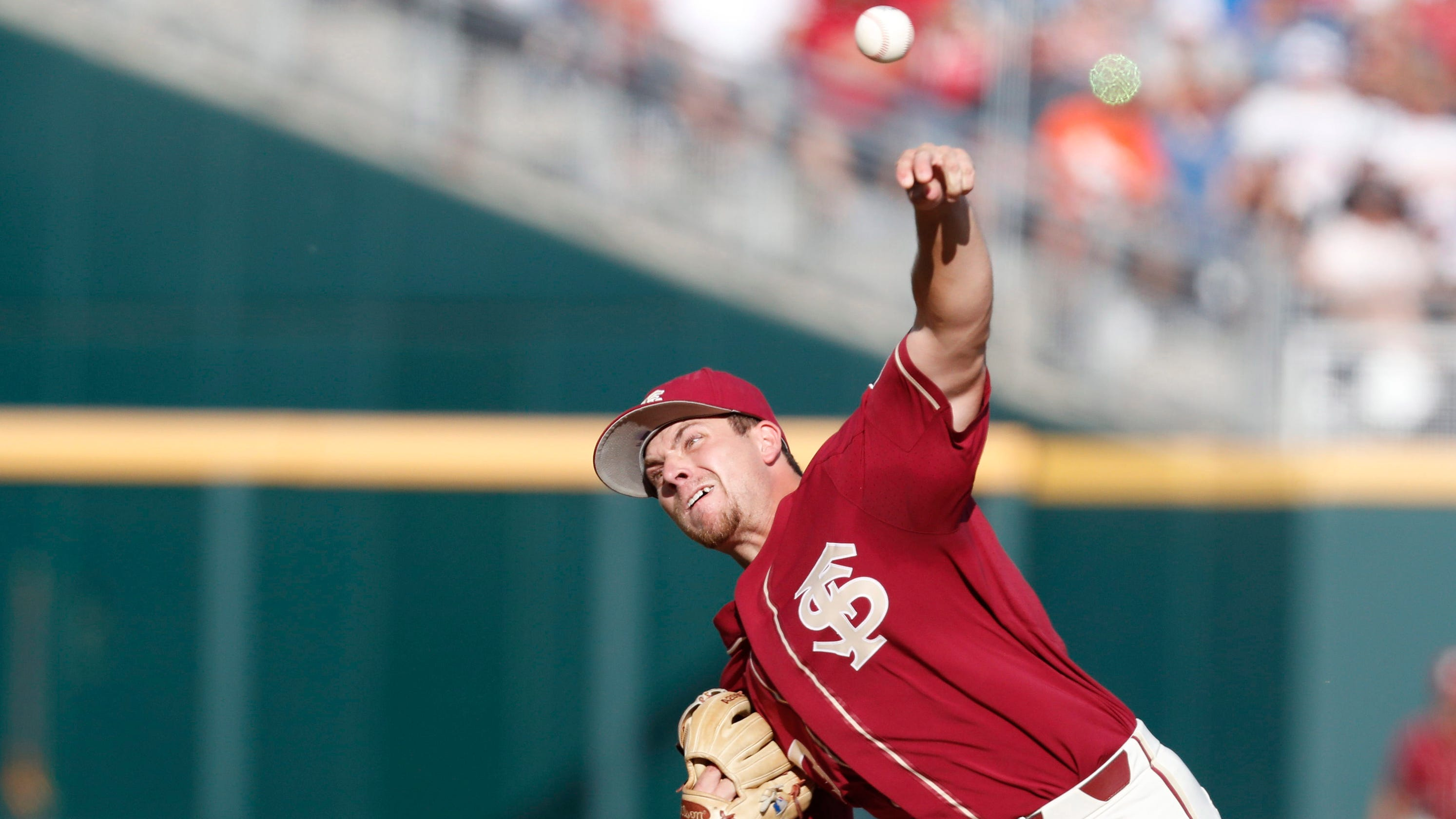 College World Series: FSU vs  Arkansas baseball video highlights, score