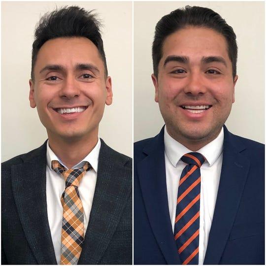 Freddy Klayel-Avalos, left, and Josh Acevedo