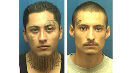 Anthony Mosqueda, left, and Julian Nuñez,