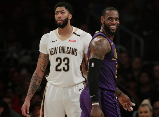 Anthony Davis and LeBron James are going to be teammates after all.