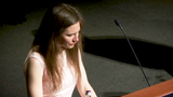 Amanda Knox on Saturday accused the media of having created a false narrative around her, depicting her as guilty despite her proven innocence. (June 15)